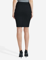 The Limited Curved-Waist Pencil Skirt
