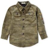 Tailor Vintage Toddler Boys) Olive Camouflage Shirt