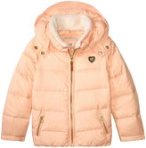 Scotch & Soda Kids Down Jacket With Detachable Collar (Kid) - Pink - 8