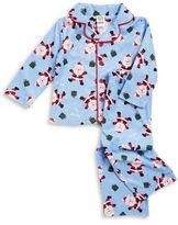 Little Me Santa Fleece Pajama Set