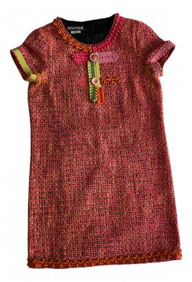 Moschino Pink Wool Dresses