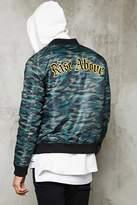 Forever 21 FOREVER 21+ Camo Print Bomber Jacket