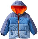 Osh Kosh Boys 4-7 Quilted Colorblock Hooded Jacket