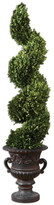 Uttermost Preserved Boxwood Sprial Botanical Topiary