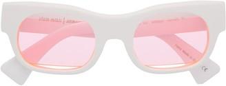 Alain Mikli Round-Frame Sunglasses