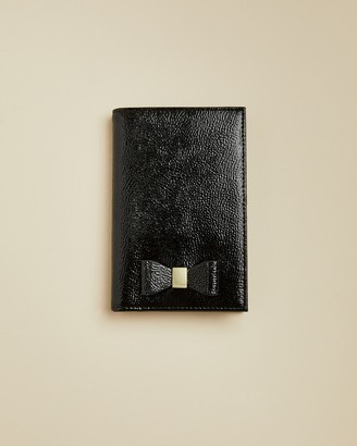 Ted Baker HANAAHH Bow leather passport holder