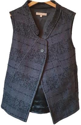 Sandro Fall Winter 2018 Grey Wool Jacket for Women