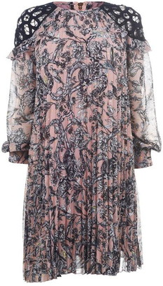 Biba Long Sleeve Floral Dress