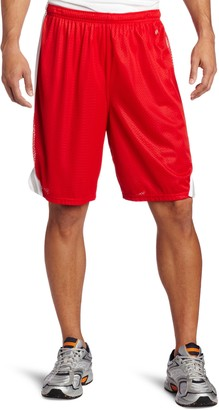 MJ Soffe Soffe Men's Lacrosse Short Red/Silver X-Large
