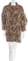 Thakoon Tweed Virgin Wool Coat