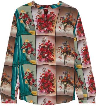 Stella McCartney Eva Printed Silk Crepe De Chine Blouse