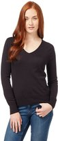 Wool Overs Women's Silk & Cotton V Neck Sweater