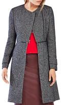 BCBGMAXAZRIA Jarrett Tweed Coat