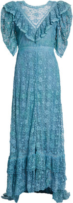 LoveShackFancy Kalani Lace Maxi Dress