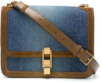 Saint Laurent Denim Shoulder Bag