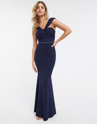 Lipsy twist bodice maxi dress