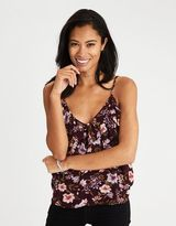 American Eagle Outfitters AE Ruffle Front Cami