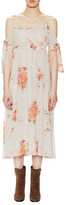 Free People Tied To You Open Shoulder Dress