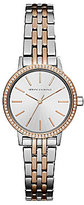Armani Exchange Two-Tone Analog Bracelet Watch
