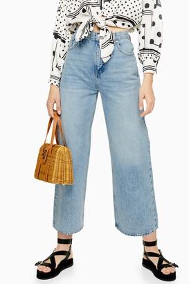 Topshop Bleach New Crop Jeans