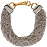Alexander Wang Silver Ball Chain Necklace