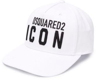 DSQUARED2 Logo Print Baseball Hat
