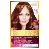 L'Oreal Excellence Crème 6.54 Light Mahogany Copper Brown 1 pack