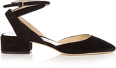 Jimmy Choo Vicky 30mm suede pumps