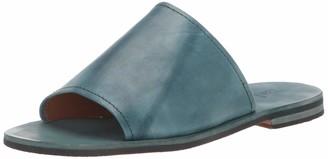 Frye Women's Robin Slide Flat Sandal coral 8 M US