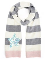 Juicy Couture Girls Star Sequin Scarf