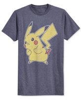 New World Men's Pokémon Pikachu Graphic-Print T-Shirt