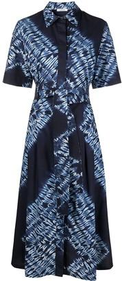 P.A.R.O.S.H. Tie-Dye-Print Shirt Dress