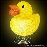 GIFTEXPRESS Kid Sparkle Yellow Duckie Lamp/ Kid Night Light Lamp