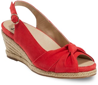 Earth Thara Bermuda Women's Slingback Wedges