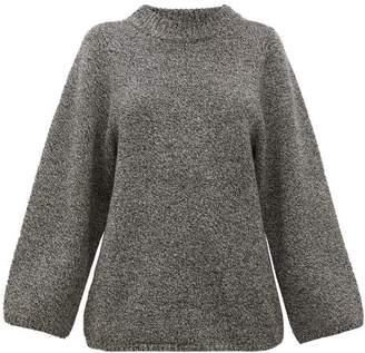 Totême Pomy Merino-wool Sweater - Womens - Grey
