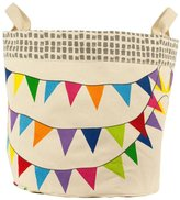 Fluf Oganic Cotton Storage - Flags Print - Small