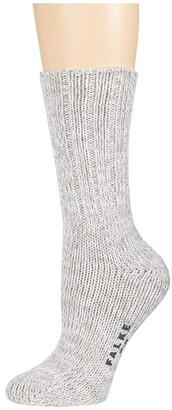 Falke Brooklyn Sock (Metal Grey) Men's Crew Cut Socks Shoes