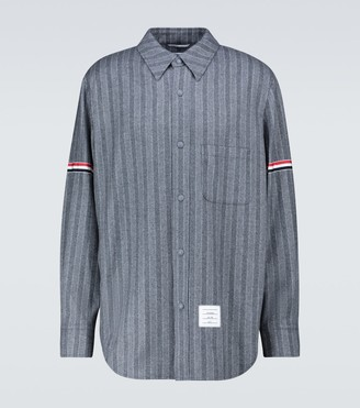 Thom Browne Chalk striped wool jacket
