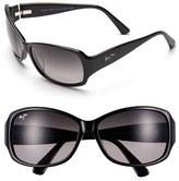 Maui Jim Women's Nalani 61Mm Polarizedplus2 Sunglasses - Dark Tortoise