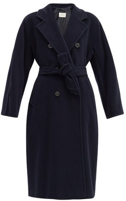 Max Mara Madame Coat - Navy