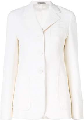 Bottega Veneta tweed single-breasted blazer