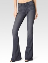 Paige High Rise Bell Canyon - Luna Grey