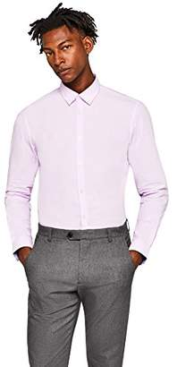 find. Men's Shirt in Cotton Slim Fit and Button Front,X-Large