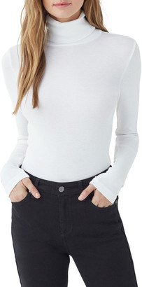 Splendid Classic 1x1 Slim Turtleneck Sweater
