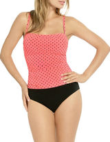 Christina Polka Dot Long Torso One-Piece Swimsuit