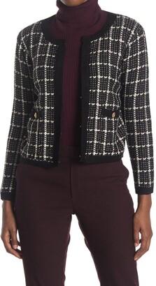 Cliche Short Tweed Cardigan