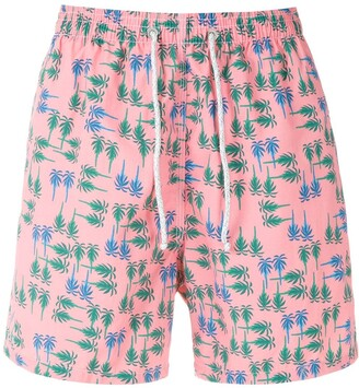 Track & Field Beach Ultramax printed swim shorts