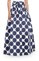 Eliza J Dotted Maxi Skirt
