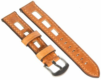 F FERRER Mens Leather Watch Strap CIE20-EQSCT