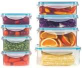 Art & Cook Seal Fresh Plastice 16-Piece Container Set